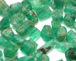 100Ct Natural Emerald Facet Rough Parcel