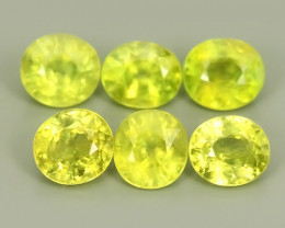 4.15 CTS~EXCELLENT NATURAL-YELLOWISH GREEN SPHENE ~WONDERFUL!!