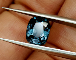 2Crt Rare Blue Spinel  Natural Gemstones JI21