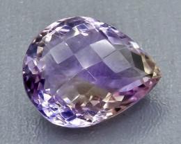 18.15 Crt Ametrine Faceted Gemstone (Rk-92)