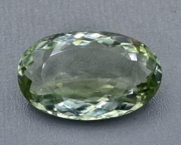 29.38 Crt Green Amethyst Prasiolite Faceted Gemstone (Rk-92)