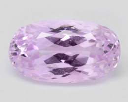 *NoReserve*Kunzite 9.14 Cts  Fancy Pink Color Natural Gemstone