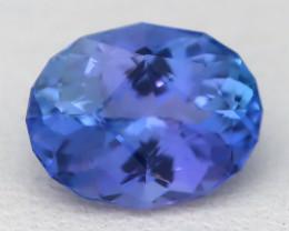 Tanzanite 1.28Ct VVS Master Oval Cut Natural Vivid Blue Tanzanite C2223