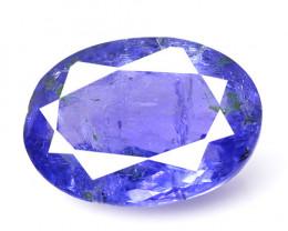 Tanzanite 1.61 Cts Amazing Rare Violet Blue Color Natural Gemstone