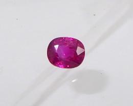 0.69ct unheated Burma Ruby