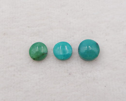 8.5cts Turquoise bead, Handmade Gemstone, Turquoise bead Cabochons, Lucky S