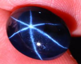 Star Sapphire 6.97Ct Natural 6 Rays Blue Star Sapphire D2402/A39