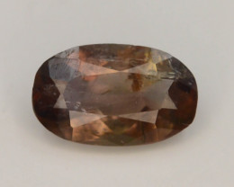 Rare 0.85 ct Multicolor Natural Axinite ~