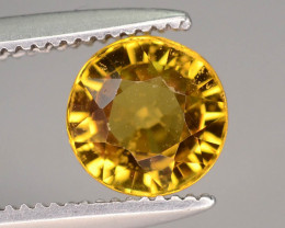 Good luster 1.15 ct Honey Color  Mali Garnet