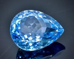 17.42 Crt Natural Topaz Faceted Gemstone.( AB 16)