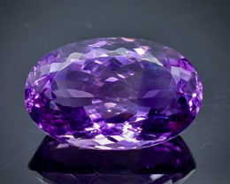 19.60 Crt Natural Amethyst Faceted Gemstone.( AB 16)