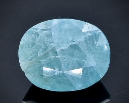 3.23 Crt Grandidierite Natural  Faceted Gemstone.( AB 16)