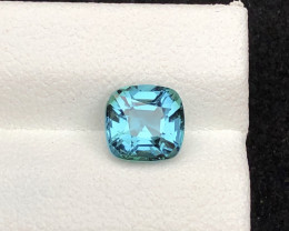 Majestic Color 1.20 ct Natural Afghan Lagoon Blue Tourmaline
