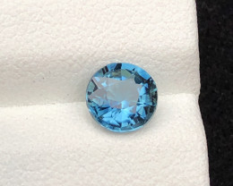 Majestic Color 0.95 ct Natural Afghan Lagoon Blue Tourmaline