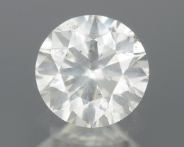 0.20 Cts Untreated Fancy White Color Natural Loose Diamond