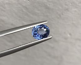 1.76cts Corn Flower Blue Ceylon Sapphire  Gemstone