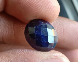 Natural Sapphire Gemstone With a Fancy Cut VA5921