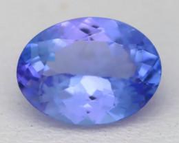 1.55Ct VVS Oval Cut Natural Purplish Blue Tanzanite C2526
