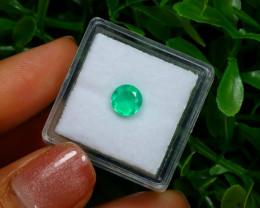 0.66Ct Colombian Muzo Emerald Neon Mint Green Beryl C2529