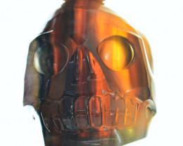 Genuine EXCLUSIVE Multicolor Fluorite Skull