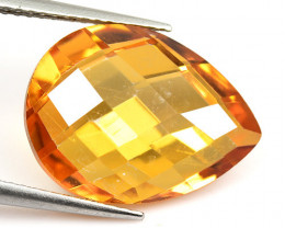 *NoReserve* Mystic Topaz 7.61 Cts Amazing Orange Multi Color Play natural G