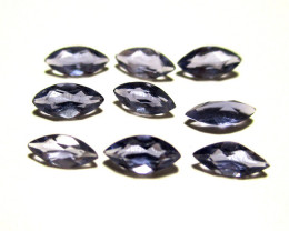 0.96cts Iolite Marquise Cut Mixed Lot