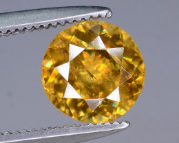 Rare AAA Astonishing Fire 1.25  ct Sphene