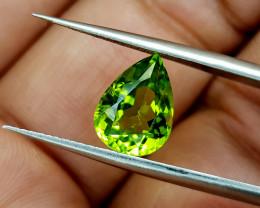 2.89Crt Peridot Pakistan Natural Gemstones JI22