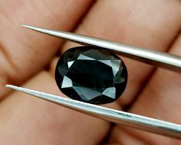2.15Crt Indicolite Tourmaline Natural Gemstones JI22