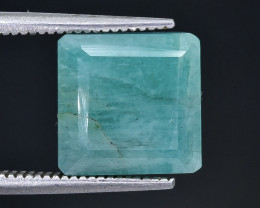 6.95 Crt Emerald Faceted Gemstone (Rk-93)