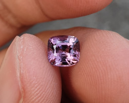 NO TREAT 1.14 CTS NATURAL STUNNING LAVENDER PINK SPINEL FROM BURMA