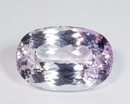 15.37 ct  Top Quality Gem Lovely Oval Cut Natural Kunzite