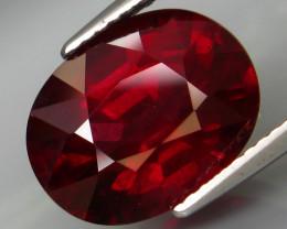 8.05 Ct. Natural Earth Mined Rhodolite Garnet Africa – IGE Certificate