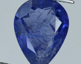 6.35  Nice color Included Yet Attractive Big Size Tanzanite