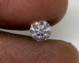 (3)  $531 Brilliant  0.40cts SI2 Nat  White Round  Loose Diamond