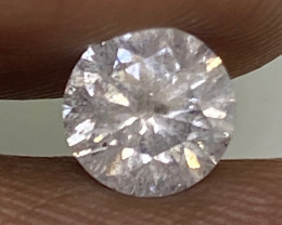 (6)  $1672  Fiery  0.80cts I1 Nat  White Round Loose Diamond