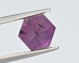 Natural Trapiche  Ruby 2.42 Cts from Kashmir