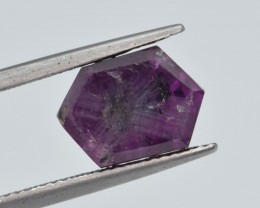 Natural Trapiche  Ruby 5.98  Cts from Kashmir