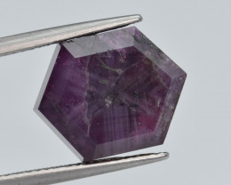 Natural Trapiche  Ruby 10.51  Cts from Kashmir