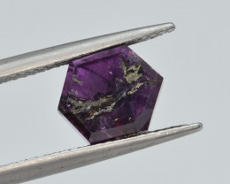 Natural Trapiche  Ruby 3.86  Cts from Kashmir