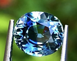 2.02 ct Bi Colors Sapphire With Excellent luster and Fine Cutting Gemstone