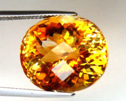 25.44ct  CERTIFIED CITRINE