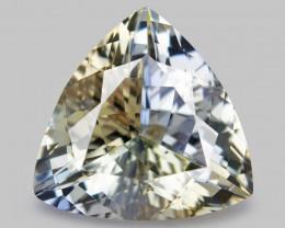 *NoReserve*Tanzanite 2.24 Cts Rare Bi-Color Natural Gemstone