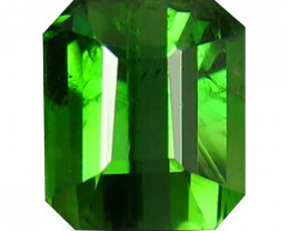 Tourmaline 1.2 Cts  Vivid Green Step Cut BGC1959 | From Madagascar