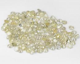 *No Reserve* Diamond 3.51 Cts 182pcs Untreated Fancy Light Yellow-Grey Natu