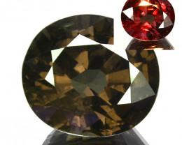 5.73 Cts Natural Color Change Garnet Oval Cut Tanzania