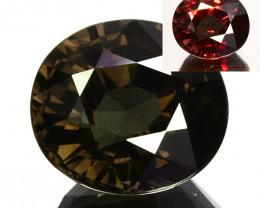 6.30 Cts Natural Color Change Garnet Oval Cut Tanzania