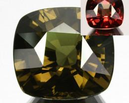 14.97 Cts Natural Color Change Garnet Cushion Cut Tanzania