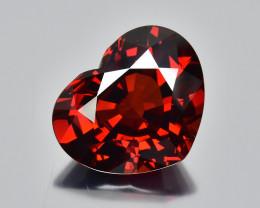 13.82 Cts Fantastic Beautiful Heart Shape Natural Spessartite Garnet