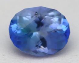 1.97Ct VVS Master Oval Cut Natural Vivid Blue Tanzanite B2703